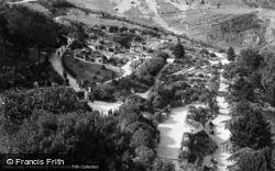 Llandudno, Happy Valley Gardens c.1933