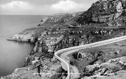 Llandudno, Head And Marine Drive c.1946