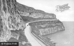 Llandudno, Marine Drive c.1933