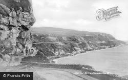 Llandudno, Marine Drive c.1946