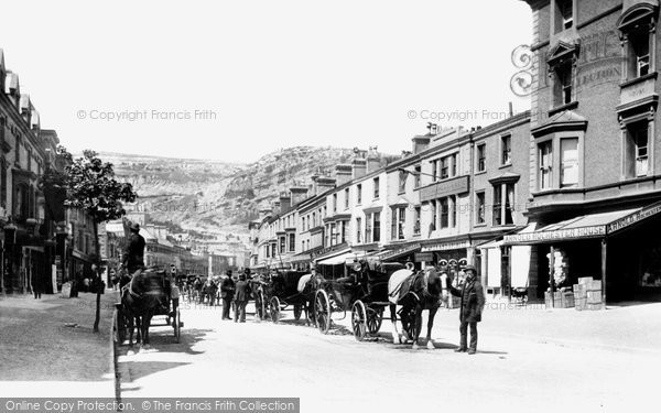 Photo of Llandudno, Mostyn Street 1890