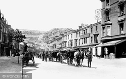 Llandudno, Mostyn Street 1890