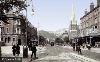 Llandudno, Mostyn Street 1913