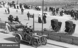 Motor Car, Parade 1908, Llandudno