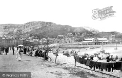 Llandudno, On The Beach 1890