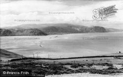 Llandudno, Penmaenmawr From Great Orme Summit c.1960