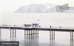 Llandudno, Pier And The Little Orme c.1995