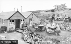 Llandudno, Pink Farm Cafe c.1950
