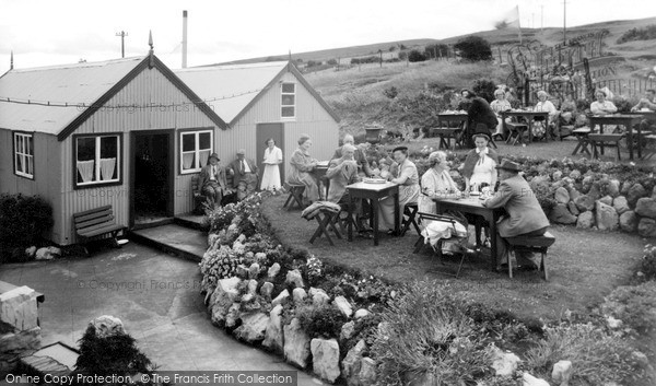 Photo of Llandudno, Pink Farm Café c.1955