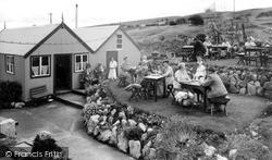 Llandudno, Pink Farm Café c.1955