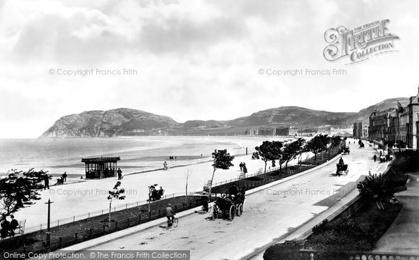 Photo of Llandudno, Promenade 1898, ref. 41490