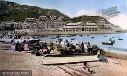 Sands And Pier 1890, Llandudno