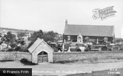 Llandudno, St Tudno's Church c.1930