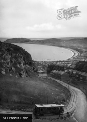 Llandudno, The Bay From Great Orme Tramway c.1939