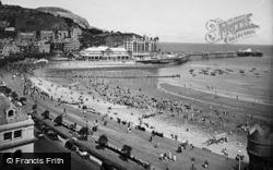 Llandudno, The Beach c.1933