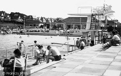 Llandudno, The Deganwy Lido c.1950