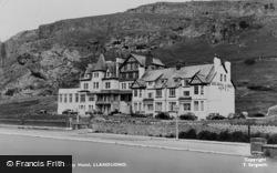 Llandudno, The Gogarth Abbey Hotel c.1955