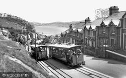 Llandudno, The Great Orme Railway c.1960