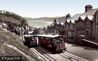 Llandudno, the Great Orme Railway c1960