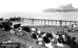 Llandudno, The Pier 1890