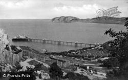 Llandudno, The Pier And Little Orme c.1900
