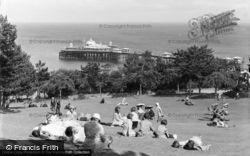 Llandudno, The Pier c.1933