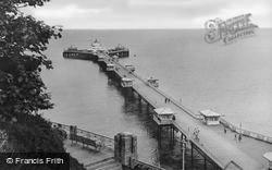The Pier c.1955, Llandudno