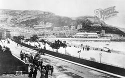 Llandudno, The Promenade 1898