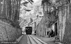 Llandudno, Tram Track c.1935
