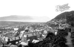 Llandudno, View Of Church Walks 1890