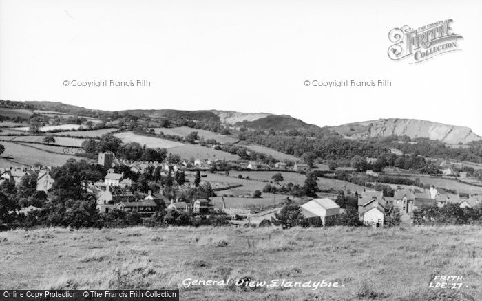 Photo of Llandybie, General View c.1955
