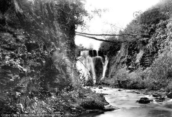 Photo of Llandybie, Glyn Hir Falls 1936