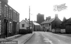 Llandybie, Llandilo Road c.1955