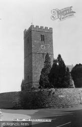 Llandybie, St Tybie's Church c.1955