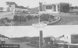 Llandysul, Brown Hill Caravan Park c.1960