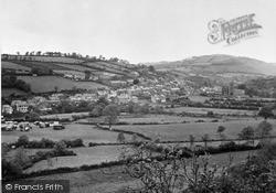 Llandysul, General View c.1955