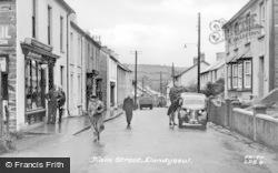 Llandysul, Main Street c.1955