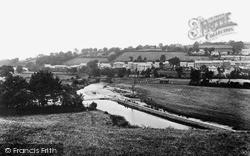 Llandysul, River Teifi c.1955