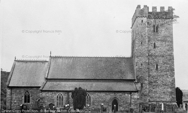 Photo of Llandysul, St Tysul's Church c.1955