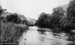 Llandysul, The River Teifi c.1960