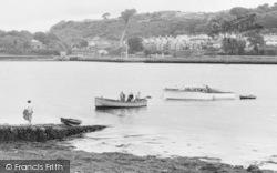 Llanedwen, Meeting The Ferry c.1955