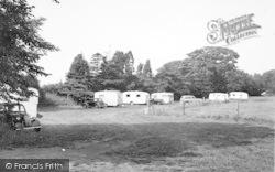 Llanedwen, Plas Coch Caravan Site c.1955