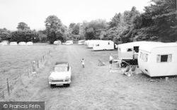 Llanedwen, Plas Coch Caravan Site c.1960