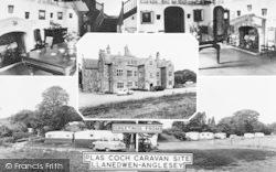 Llanedwen, Plas Coch Caravan Site Composite c.1960