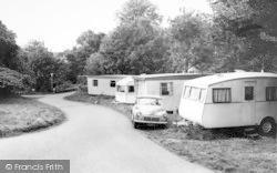 Llanedwen, Plas Coch Caravn Park c.1960