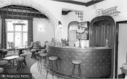 Llanedwen, The Bar, Robinsons Holiday Camp c.1960