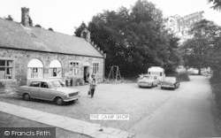 Llanedwen, The Camp Shop c.1960
