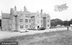 Llanedwen, The Mansion, Plas Coch c.1960
