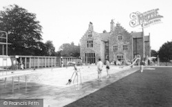 Llanedwen, The Pool, Robinsons Holiday Camp c.1960