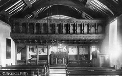 Llanegryn, Church Of St Mary And Egryn, Interior 1895